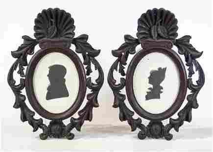 Pair 19th c. Carved Frames