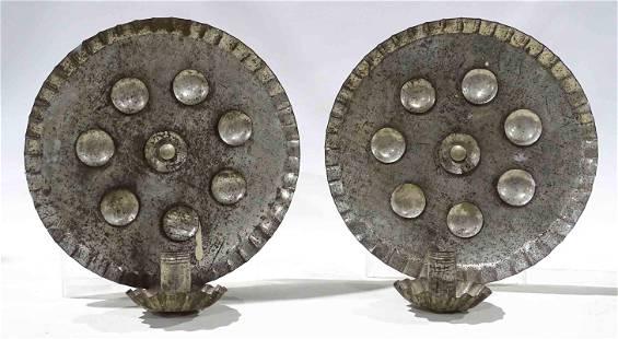 Pair of Tin Reflectors