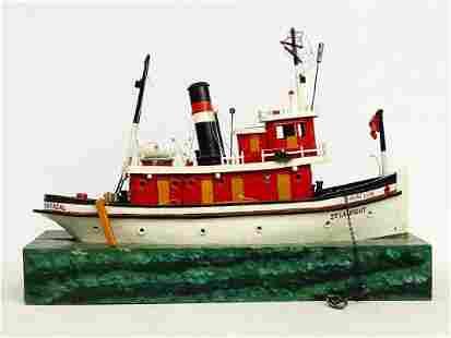 Folk Art Ship Model