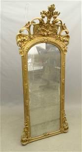 19th c. Hall Mirror