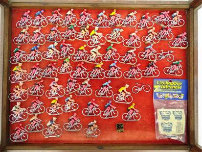 Cyclist Figurines