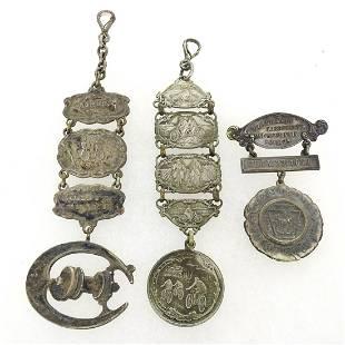 Bicycle Fobs & Medal