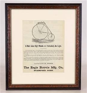 Eagle High Wheel Print