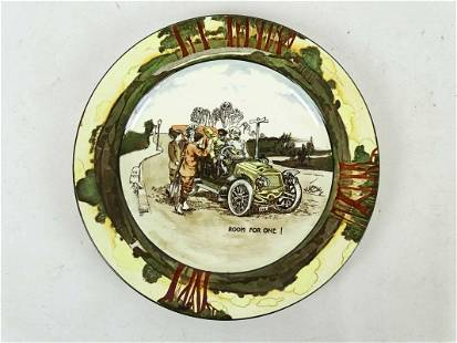 Royal Doulton Automobile Plate