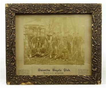 Waiontha Bicycle Club Photograph