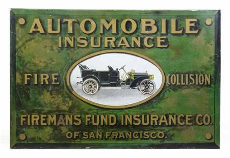 Automobile Insurance Sign