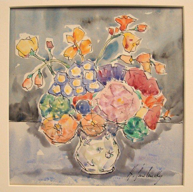 1: Watercolor Alexi Von Jawlensky