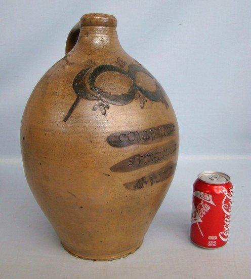 "4: 19th c. ""Commeraw"" Stoneware Jug"