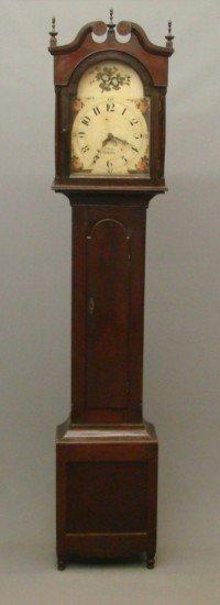 "5: 19th c. ""J. Weifs"" Pennsylvania Tall Case Clock"