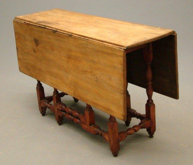 8: 18th c. Gateleg Table