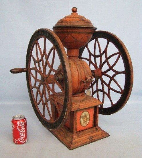 12: 19th c. Coffee Mill
