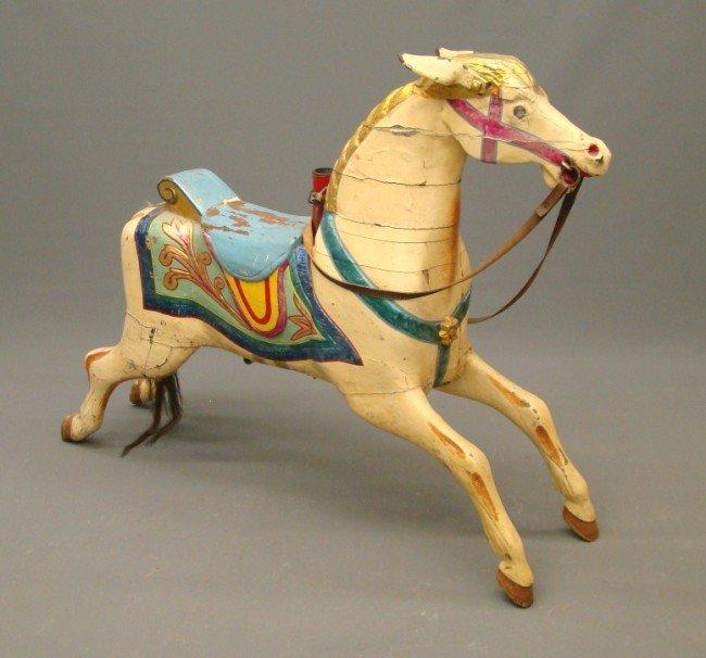 15: C. 1890 Savage Carousel Horse