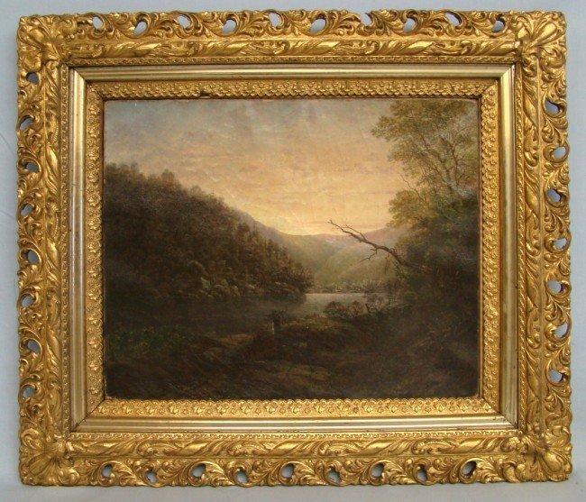 111: 19th c. Painting Landscape