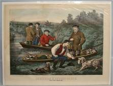 273: 19th c. Currier And Ives Print