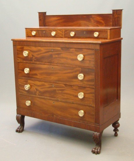 11: 19th c. Empire Chest Drawers