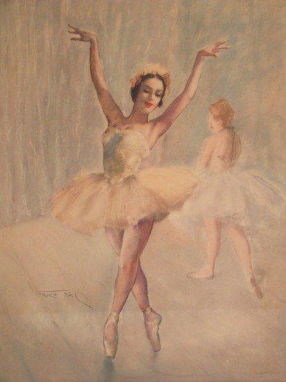 Vintage Ballerina Prints 10