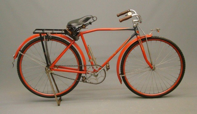 """5: c. 1928 """"Lindy"""" Shelby Bicycle"""