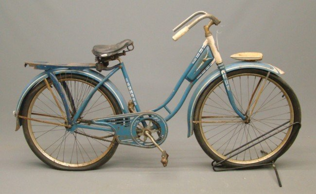 6: c. 1940's Cleveland Female Balloon Bicycle