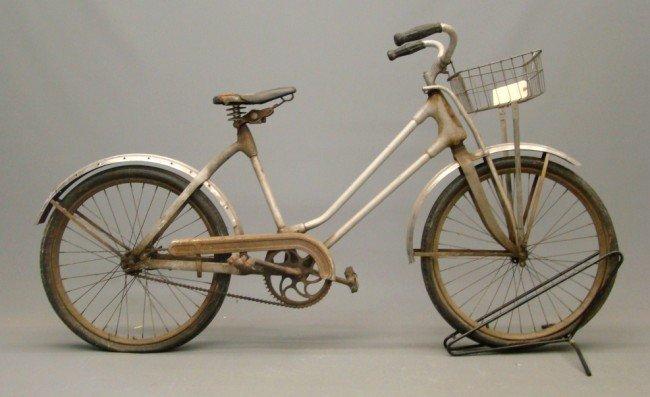8: c. 1940's Monark Silver King Female Bicycle