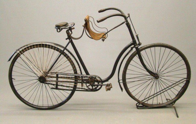 11: 1892-93 Female Pneumatic Safety Bicycle