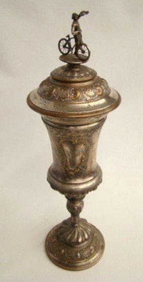 C. 1900 Silverplate German Trophy