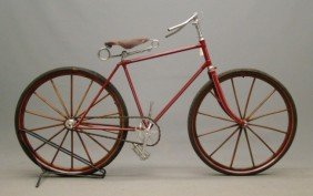 Elliot Hickory Pneumatic Safety Bicycle