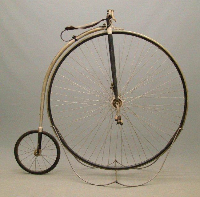 "58: c. 1880's 51"" Rudge Highwheel Bicycle"