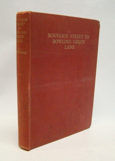 "60: Book: ""Bouverie Street to Bowling Green Lane"""