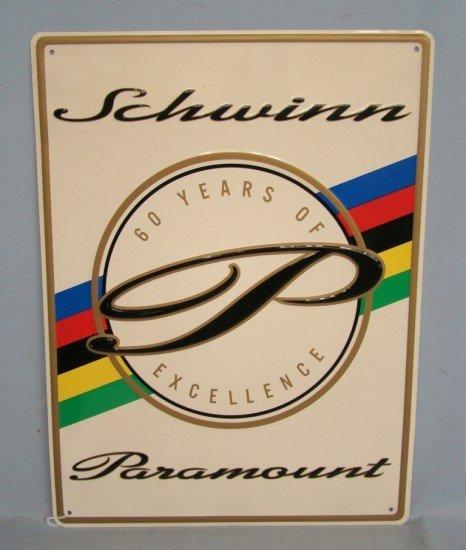 61: Schwinn Sign