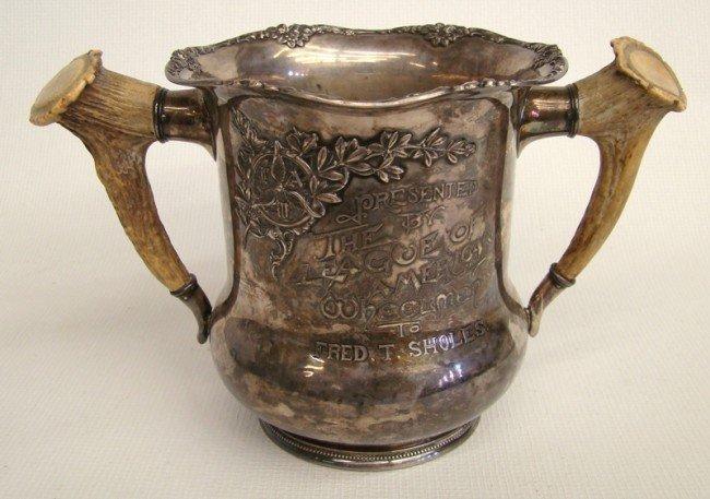 64: Sterling Silver LAW Trophy