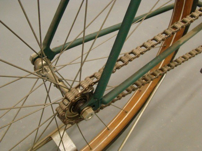 69: c. 1893 Victor Pneumatic Safety Bicycle - 2