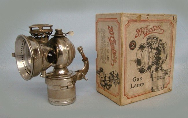 70: 20th Century Carbide Lamp