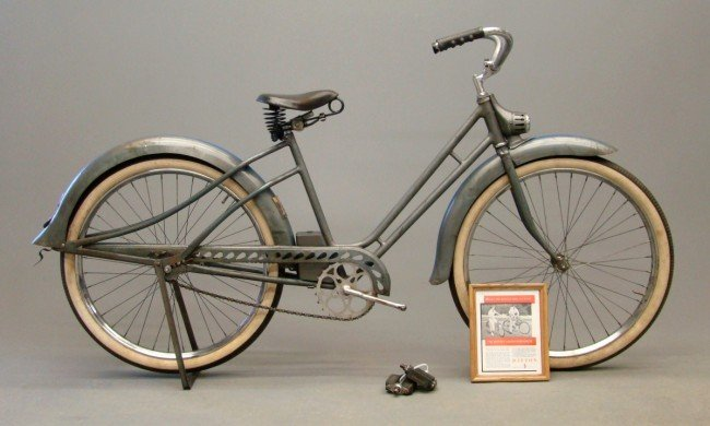 "70A: 1936 Dayton ""Airflyte"" Safety-Streamline Bicycle"