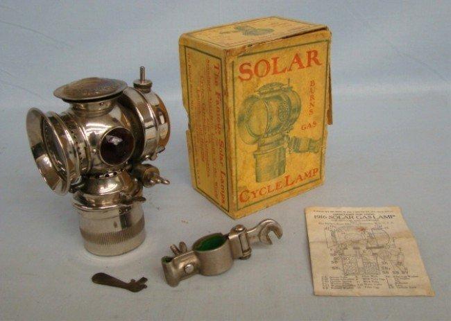 72: SOLAR Cycle Lamp