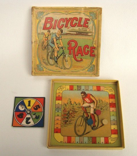 74: Rare Board Game: Bicycle Race