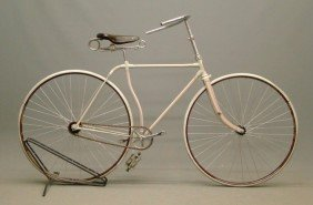 C. 1885 Credenda Hard Tire Safety Bicycle
