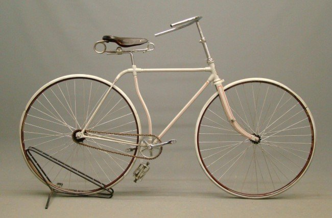 76: c. 1885 Credenda Hard Tire Safety Bicycle