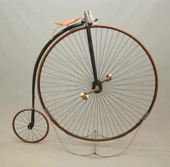 "80A: c. 1885 Columbia Expert 54"" Highwheel Bicycle"