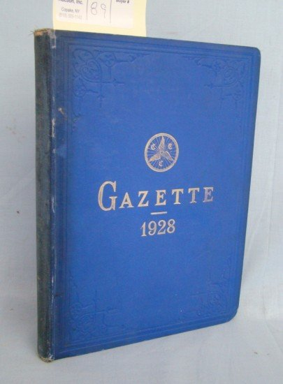 "89: Book: CTC ""Gazette"" 1928"