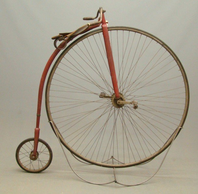 "90A: c. 1886 Victor 51"" Highwheel Bicycle"