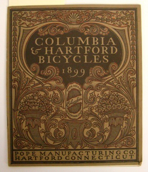 "95: Catalog, 1899 ""Columbia & Hartford Bicycles"""