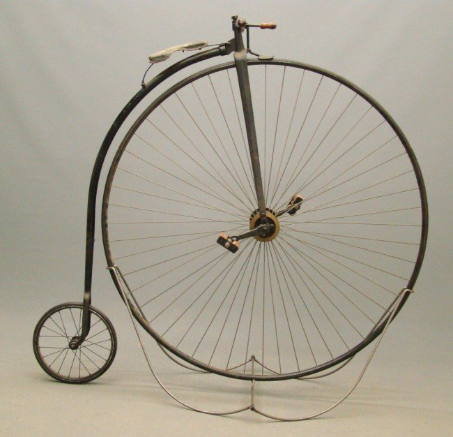"96: Replica  50"" Highwheel Bicycle"