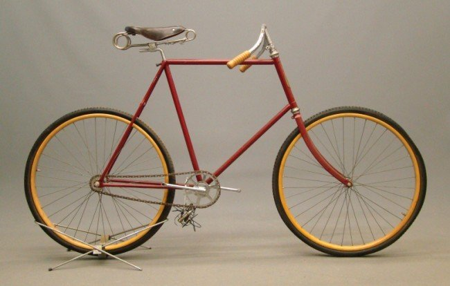98: c. 1898 Victor Tall Frame Pneumatic Safety Bicycle