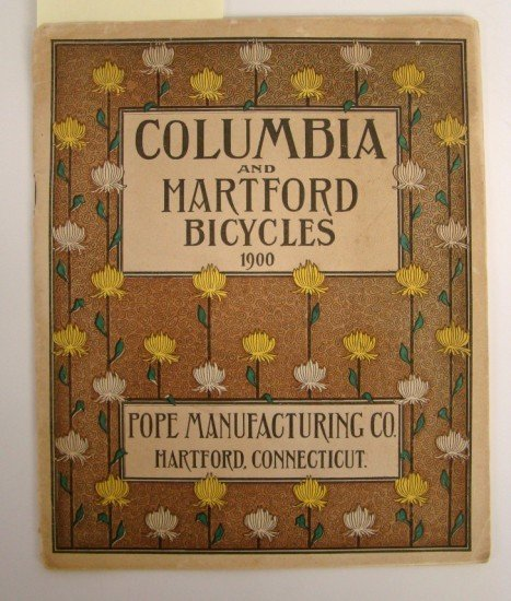 "99: Catalog, 1900 ""Columbia & Hartford Bicycles"""