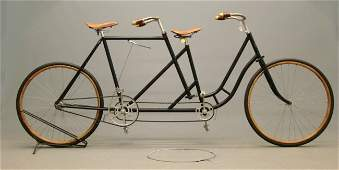 193: c. 1898 Wolff American Female-Male Tandem Bicycle