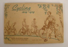 """Cycling"" 1839-1939 Cigarette Stamp Book"