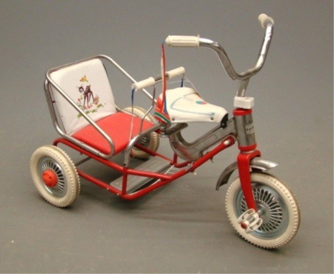 """458: """"Happy Rider"""" Child's Tricycle"""