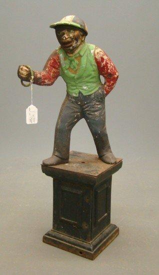 6: Cast Iron Lawn Jockey