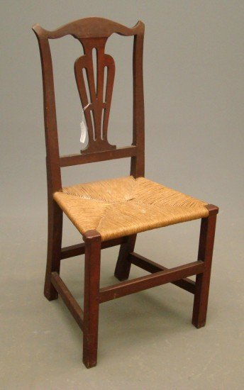 24: 18th c. Chippendale Chair