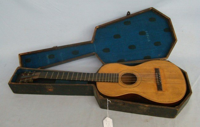 503: Early William Hall & Son Guitar